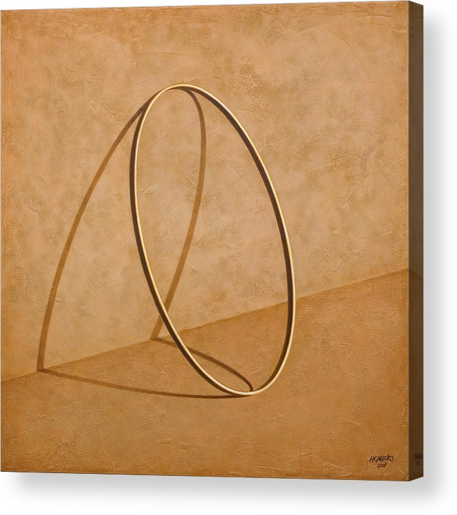 Wall Acrylic Print featuring the painting Plenty Of Emptiness by Horacio Cardozo