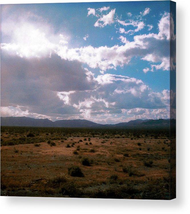 Paul Tokarski Acrylic Print featuring the photograph Real Mountain by Paul Tokarski
