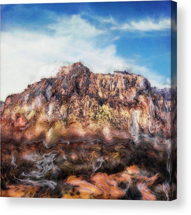 Paul Tokarski Acrylic Print featuring the photograph Red Rock IIi by Paul Tokarski