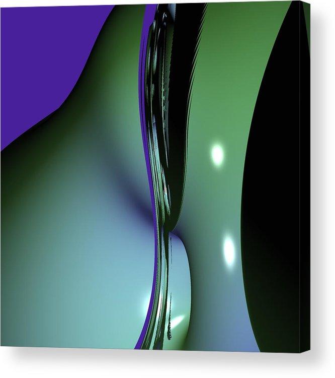 Fractal Art Acrylic Print featuring the digital art Sensuoso by Caren Appel