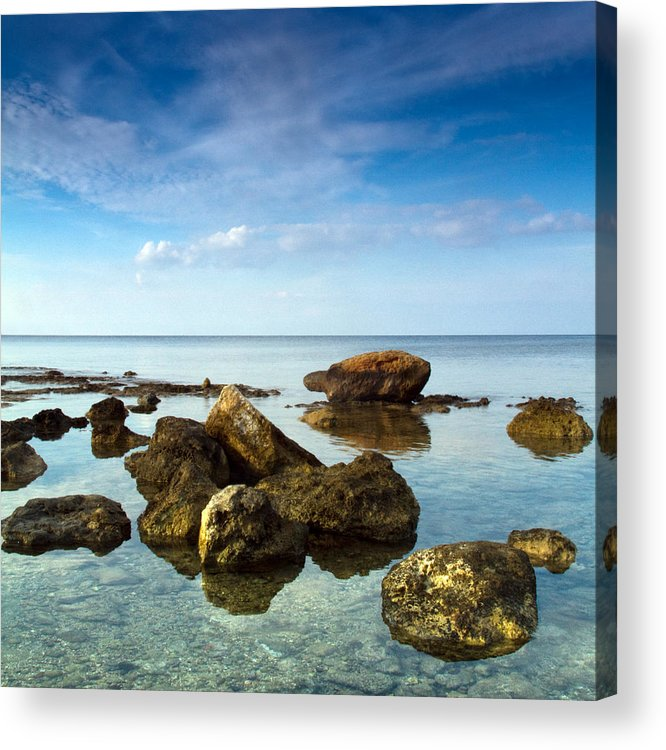 Abstract Acrylic Print featuring the photograph Serene by Stelios Kleanthous