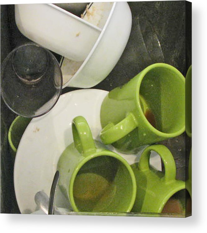 Still Life Acrylic Print featuring the photograph The Kitchen Sink by Donna Thomas