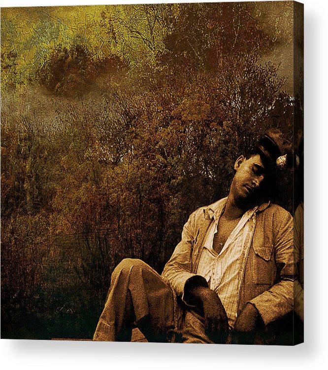 Sailer Acrylic Print featuring the photograph Time Warp by Jeff Burgess