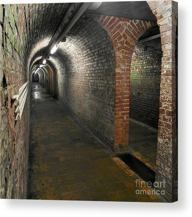 Belgium Acrylic Print featuring the photograph With Gear by Elisabeth Derichs