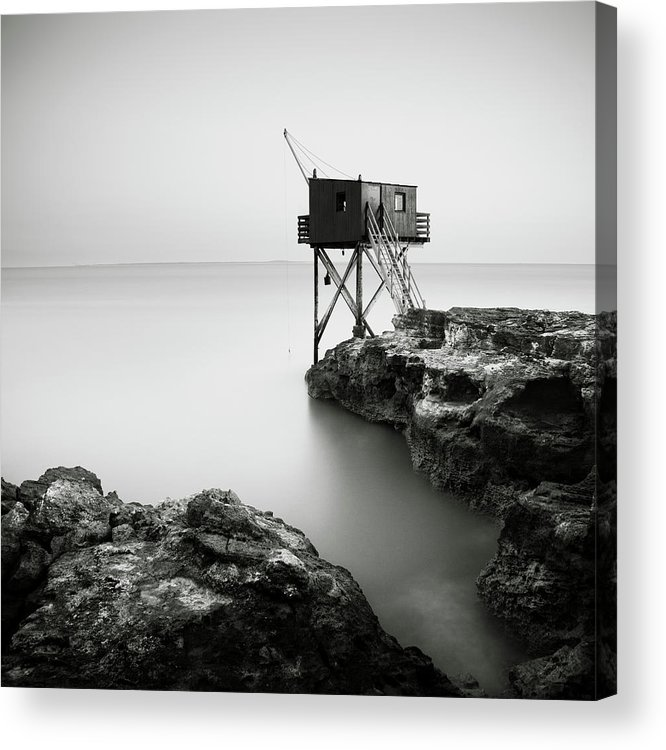 Saint Palais Sur Mer Acrylic Print featuring the photograph Saint Palais Sur Mer, France, 2012 by Ronnie Behnert