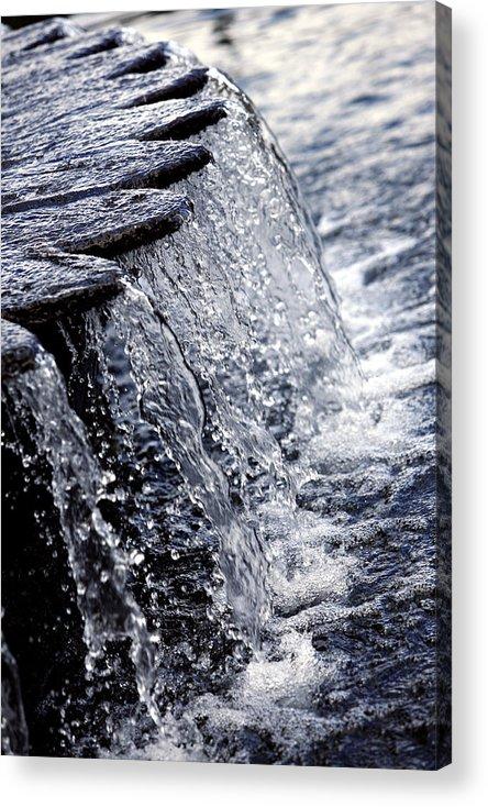 Photo Acrylic Print featuring the photograph Cascade by Carmo Correia
