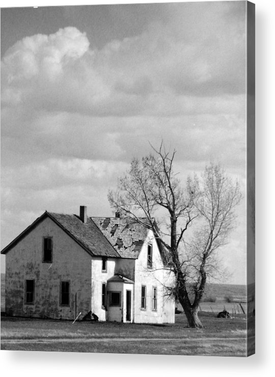 House Acrylic Print featuring the photograph Broken Dreams by Allan McConnell