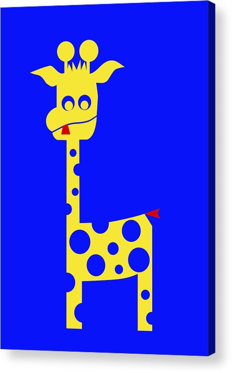 Tall Charlie Acrylic Print featuring the digital art Tall Charlie by Asbjorn Lonvig