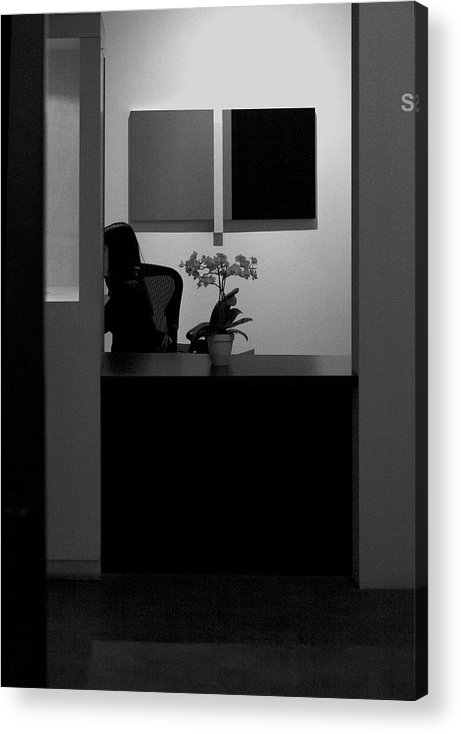 Blocked From View Of You Acrylic Print featuring the photograph Blocked From View Of You by Viktor Savchenko