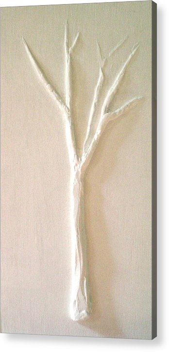 Tree Acrylic Print featuring the painting Dawn by Kime Einhorn
