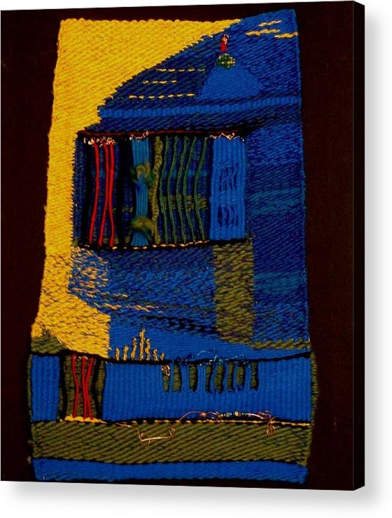 Tapestry Acrylic Print featuring the mixed media Highland Cathedral by Aneesha Parrone