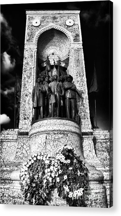 Monument Of The Republic Acrylic Print featuring the photograph Monument Of The Republic by John Rizzuto