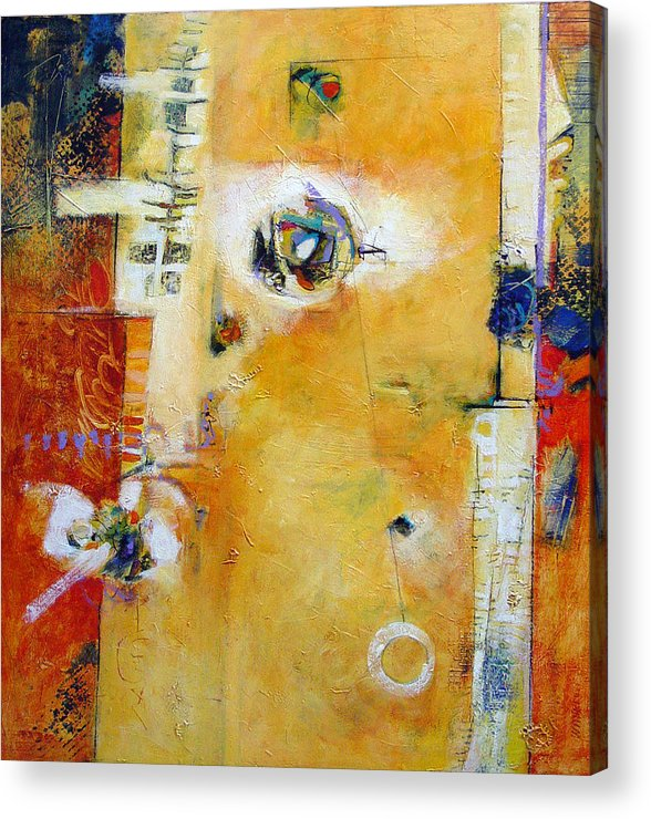 Abstract Acrylic Print featuring the painting Dervish by Dale Witherow