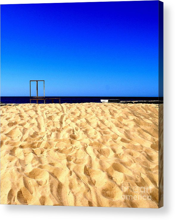 The Sky Acrylic Print featuring the photograph I Want There by Vadim Grabbe