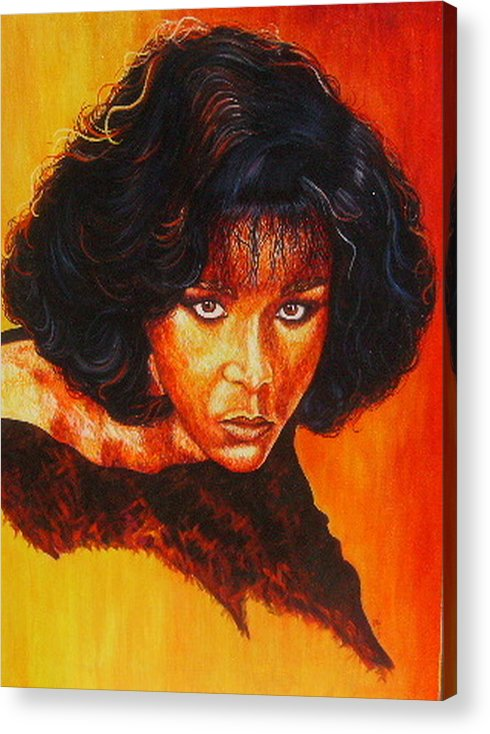 Painting Acrylic Print featuring the painting Remember Me by Shahid Muqaddim