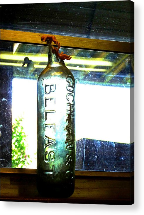 Bottle Acrylic Print featuring the photograph Belfast by Raven Creature