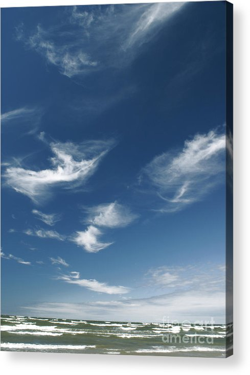 The Sky Acrylic Print featuring the photograph The Air by Vadim Grabbe
