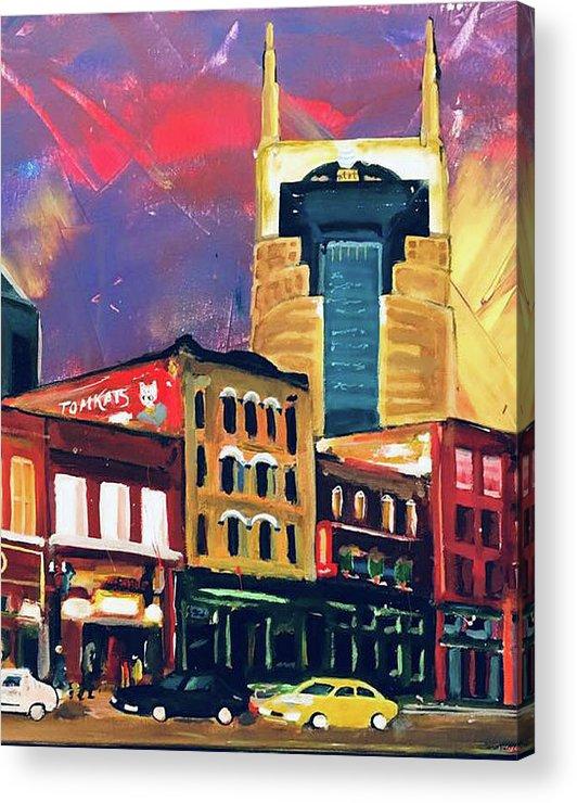 Nashville Batman Building by Marcelino Ihada