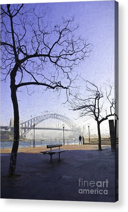 Mist Acrylic Print featuring the photograph Misty Sydney morning by Sheila Smart Fine Art Photography