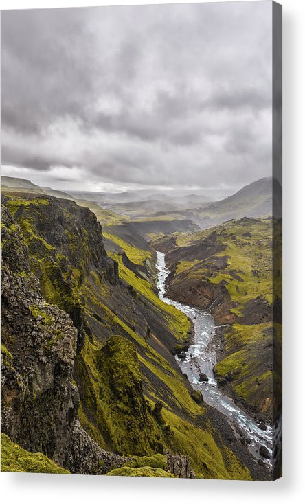 Iceland Acrylic Print featuring the photograph Where Do I Look by Jon Glaser