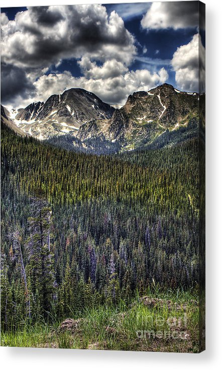 Landscape Acrylic Print featuring the photograph Scenic View From The Highway by Pete Hellmann