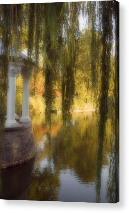 Water Acrylic Print featuring the photograph The Gazebo by Ayesha Lakes