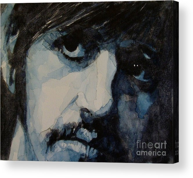 Ringo Starr  Acrylic Print featuring the painting Ringo by Paul Lovering