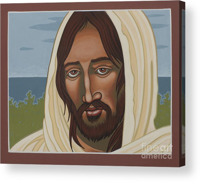 Jesus Acrylic Print featuring the painting The Galilean Jesus 266 by William Hart McNichols