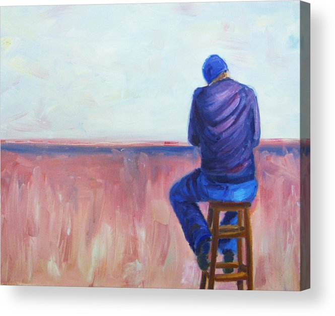Drink Acrylic Print featuring the painting Another Day by Angelique Bowman