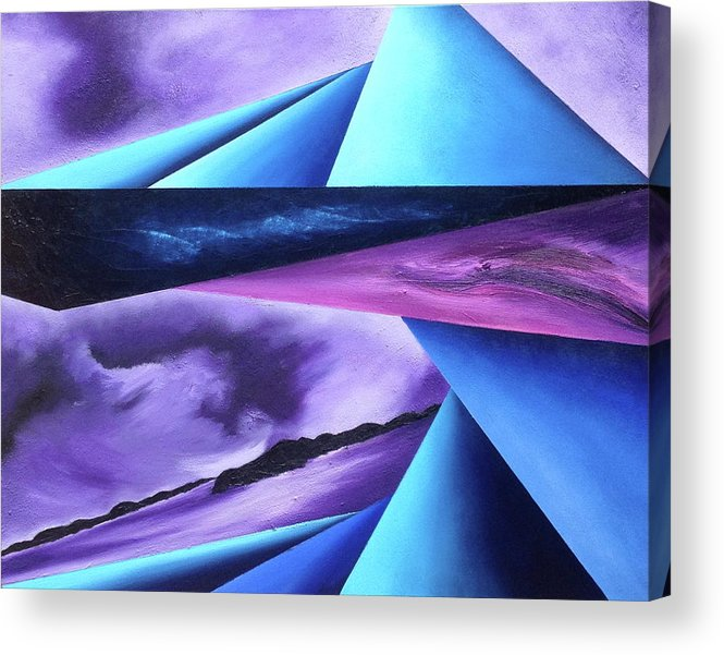 Acrylic Print featuring the painting Immense of teh Universe II by Ara Elena