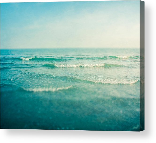 Ocean Acrylic Print featuring the photograph Like A Dream by Violet Gray