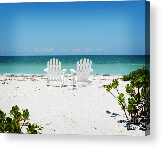 Florida Acrylic Print featuring the photograph Morning View by Chris Andruskiewicz