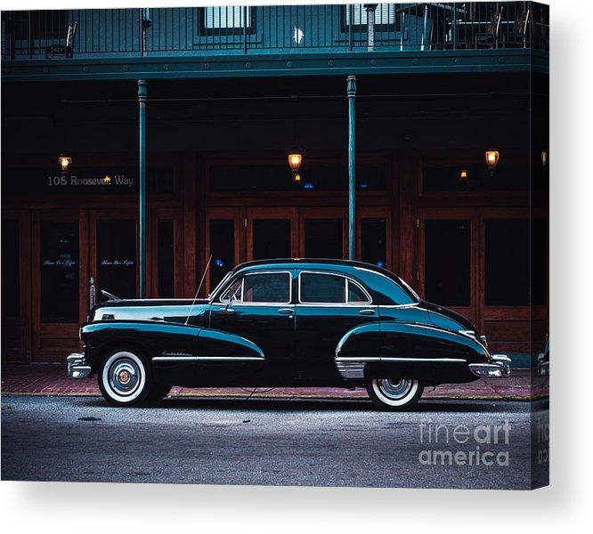 Cadillac Acrylic Print featuring the photograph NOLA Caddie by Sonja Quintero