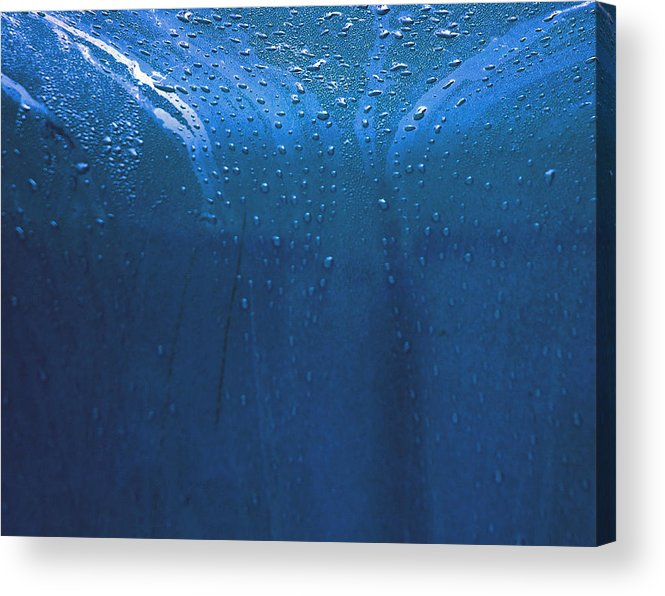 Rain Acrylic Print featuring the photograph Rain 2 by Mickie Boothroyd