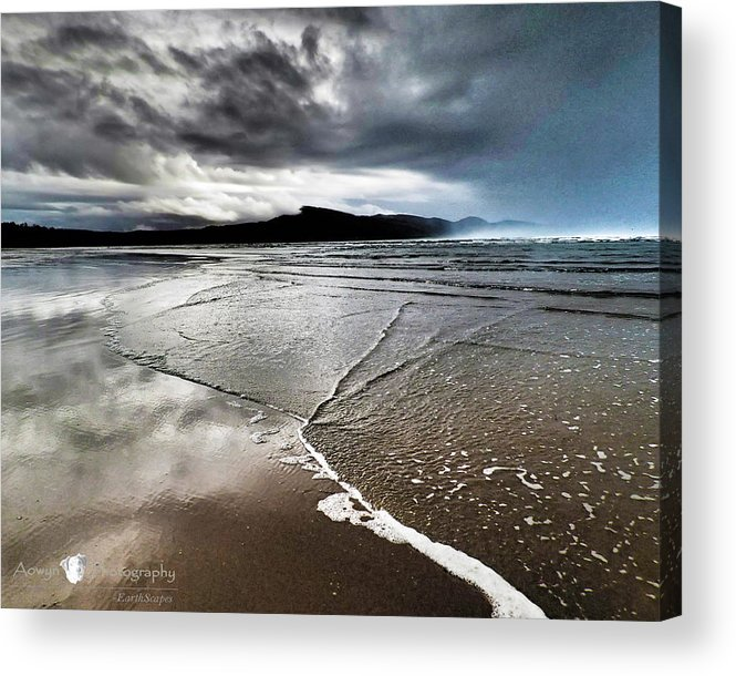 Beach Acrylic Print featuring the photograph Two Skies by Stephanie McGuire