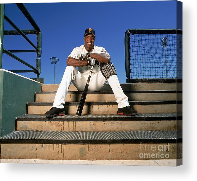 People Acrylic Print featuring the photograph Barry Bonds by Andy Hayt