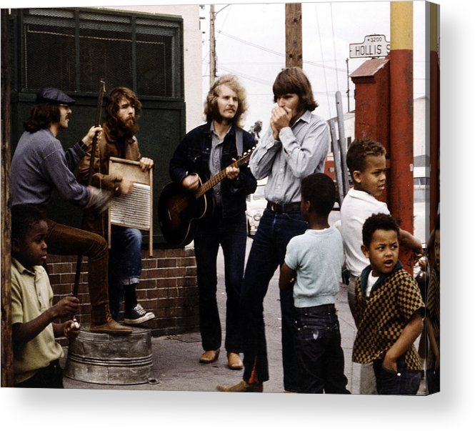 Music Acrylic Print featuring the photograph Photo Of Creedence Clearwater Revival by Michael Ochs Archives