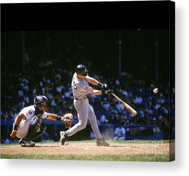 American League Baseball Acrylic Print featuring the photograph Mlb Photos Archive by John Reid Iii