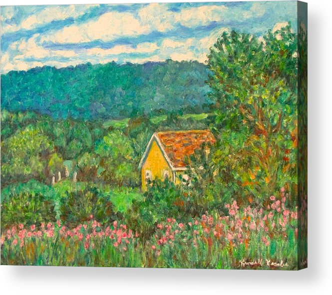 Landscape Acrylic Print featuring the painting 460 by Kendall Kessler