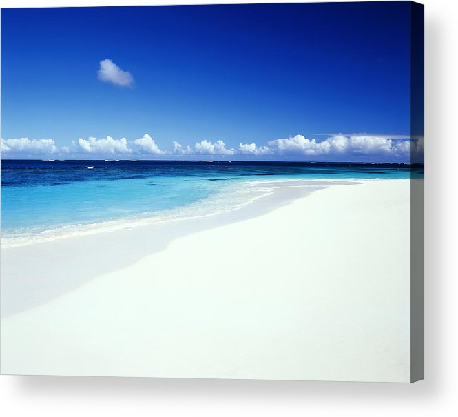 Scenics Acrylic Print featuring the photograph Caribbean Anguilla Shoal Bay Beach by Buena Vista Images