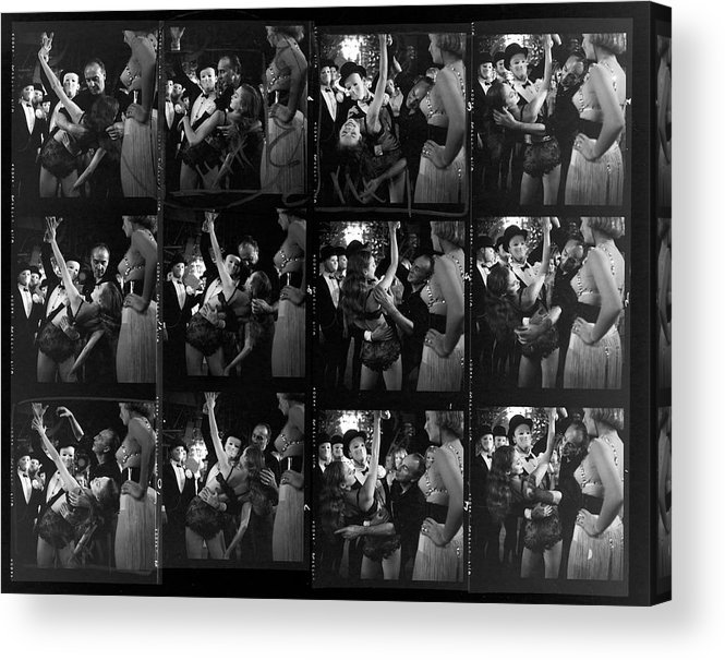 Working Acrylic Print featuring the photograph Choereographer George Balanchine by Gordon Parks