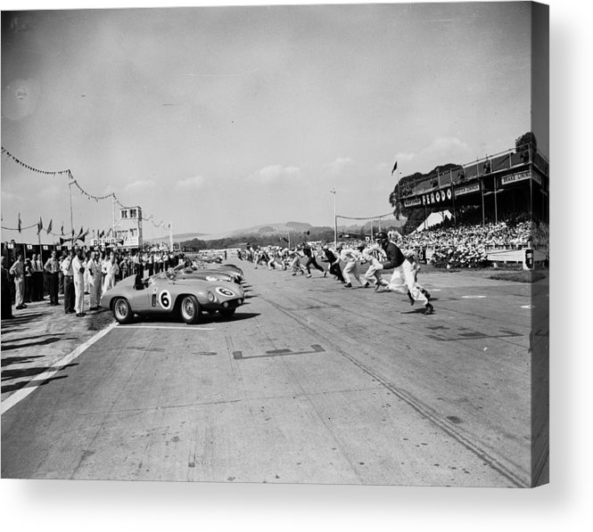1950-1959 Acrylic Print featuring the photograph Goodwood Start by J. Wilds