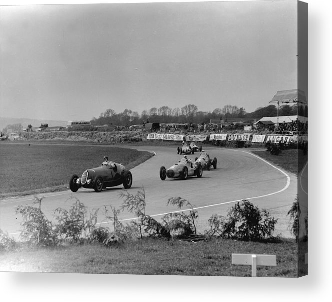 1950-1959 Acrylic Print featuring the photograph Holiday Race by Fisher