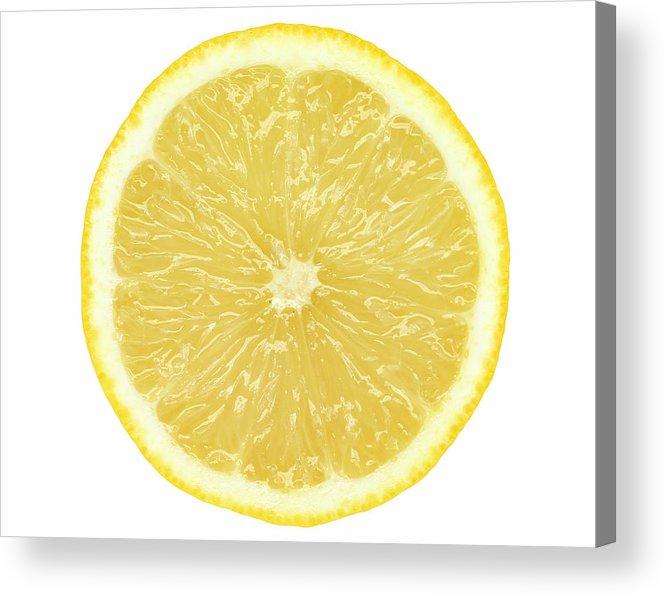 Limon Province Acrylic Print featuring the photograph Lemon by Suzifoo