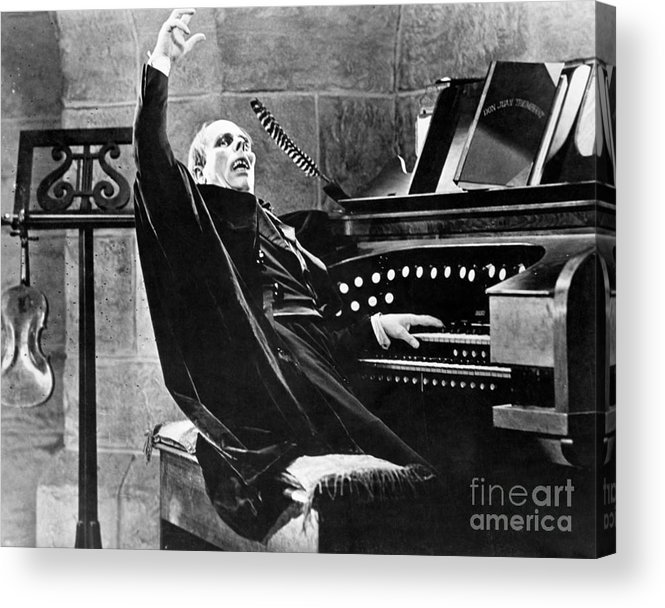Ugliness Acrylic Print featuring the photograph Lon Chaney As The Phantom Of The Opera by Bettmann