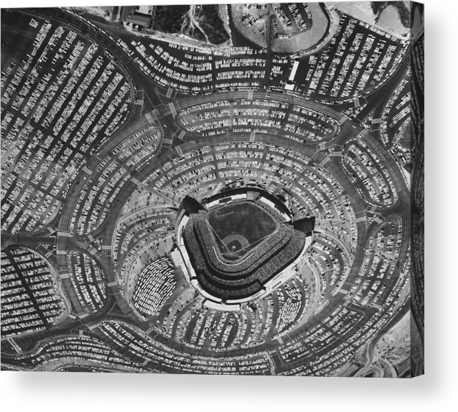 Timeincown Acrylic Print featuring the photograph Los Angeles Dodgers by Ralph Crane