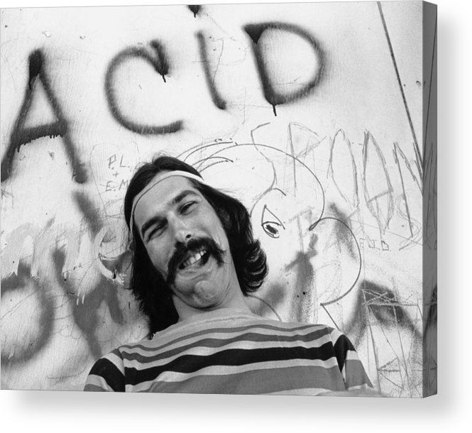 San Francisco Acrylic Print featuring the photograph Photo Of Grateful Dead by Michael Ochs Archives
