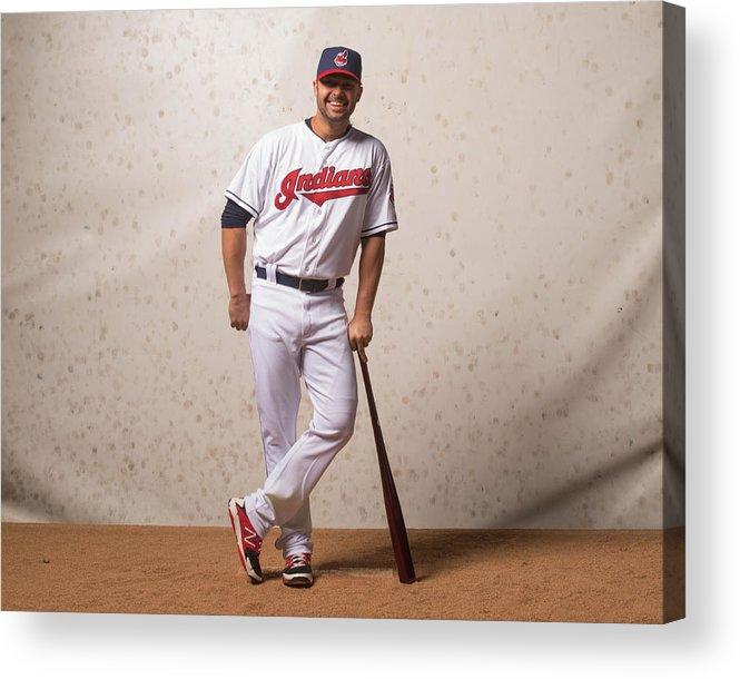 American League Baseball Acrylic Print featuring the photograph Nick Swisher by Rob Tringali