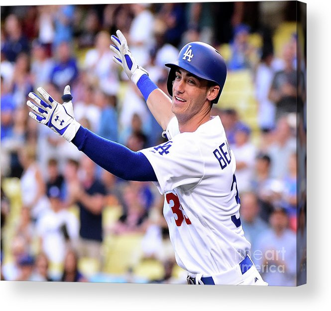 People Acrylic Print featuring the photograph Cody Bellinger by Harry How