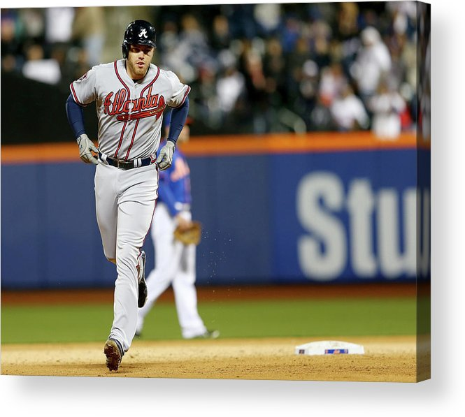 Residential District Acrylic Print featuring the photograph Freddie Freeman by Elsa